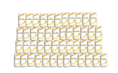 大量のノンアルコールビール