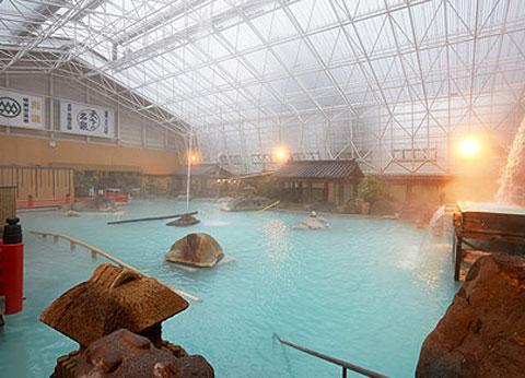 霧島ホテルの庭園大浴場