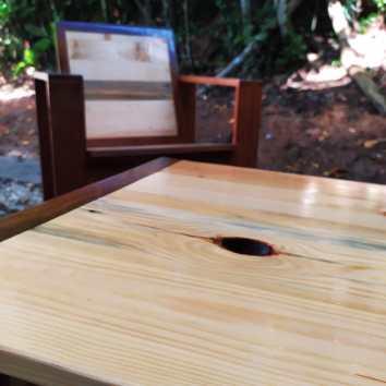 Fauteuil et table basse en Angélique et palettes - TAKARI DESIGN - Guyane - La Fabrique du Dégrad