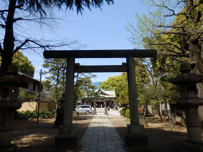 東京都旅行観光東京十社巡り品川神社