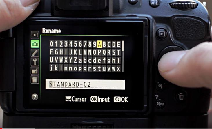 nikon simpan nama picture profile baru - cara buat video sinematik