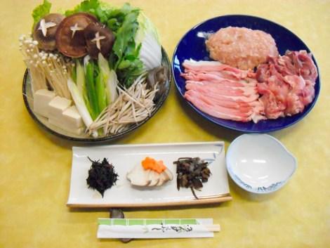 高取ちゃんこ鍋(近江シャモ・豚肉)