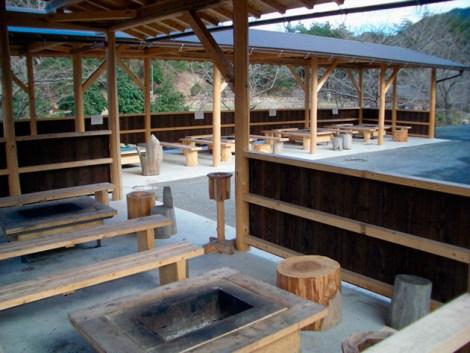 屋根付き焼き肉ハウス
