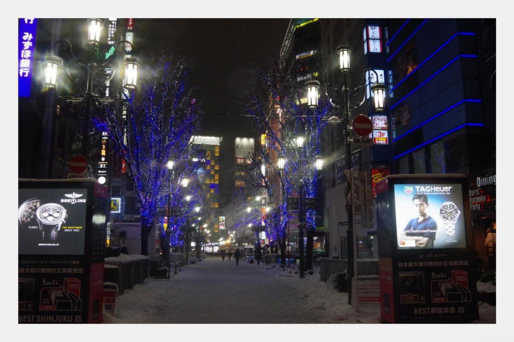 新宿の夜景も遠い日のよう