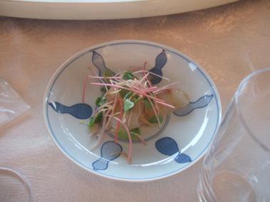 鯛のマリネー