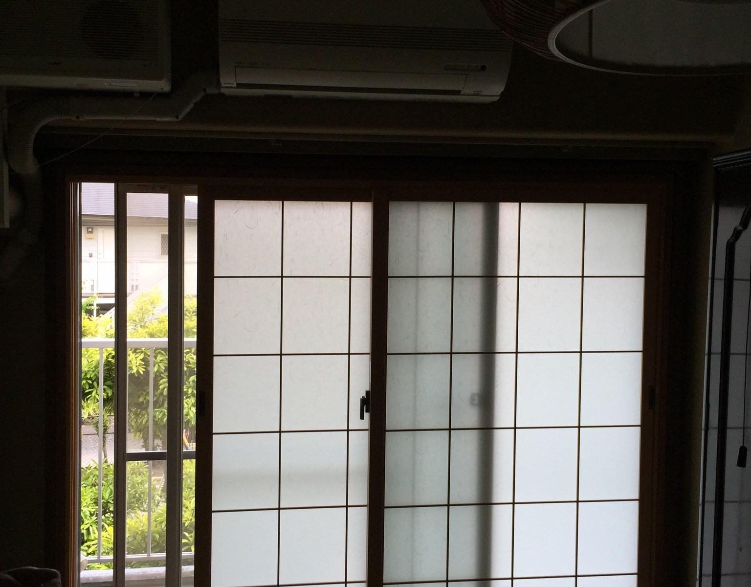 マンション掃出しに内窓設置しました