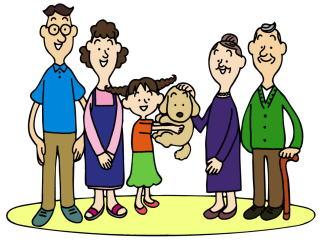 家族のための目的別リフォームイメージ