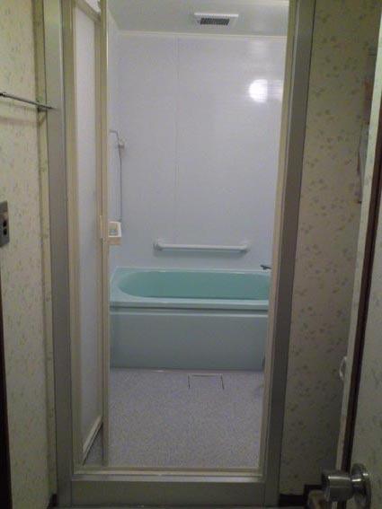 マンション浴室改修アフターTOTOマンションリモデルバスWB