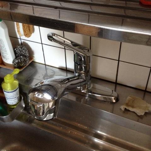 タカギ浄水器付水栓
