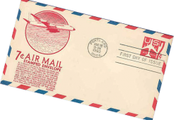 air mail png