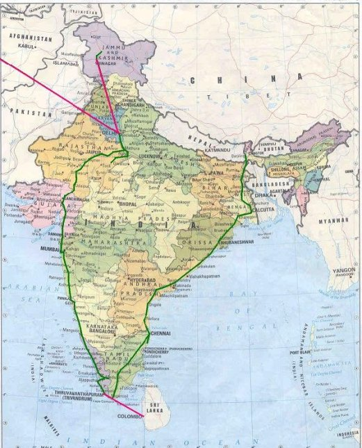 Our travel in India