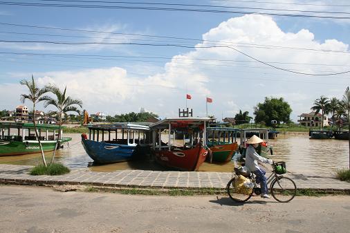 Hoi An harbor
