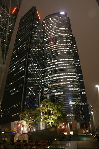 Building by night