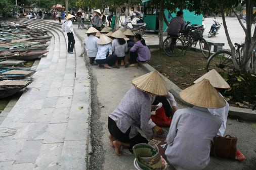 Typical Conical Vietnamies hat