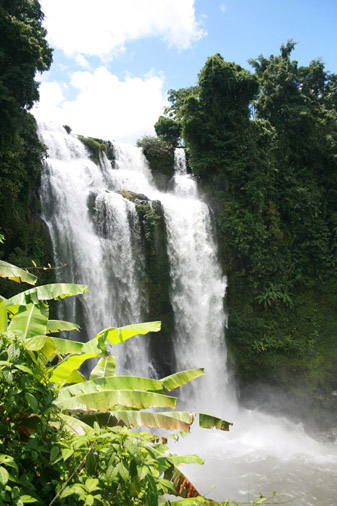 Bolaven Plateau 60 meters waterfall