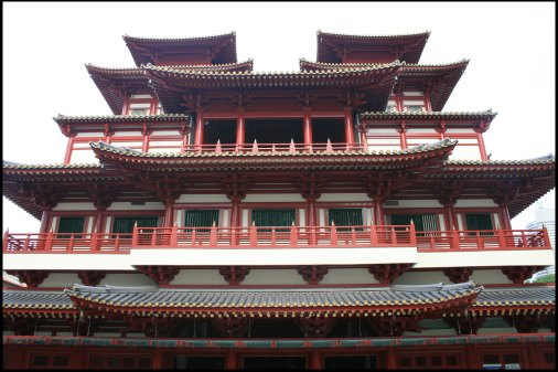 Huge chinese temple