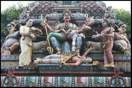Indian temple details