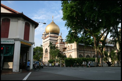 The biggest mosque of Singapore