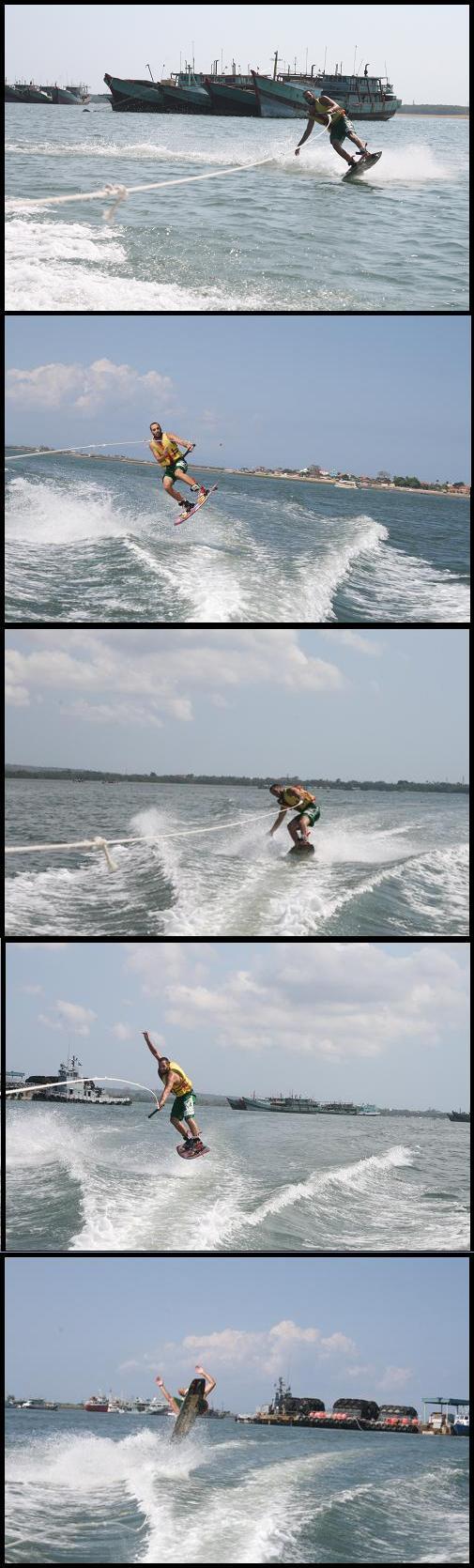 Bali wakeboarding