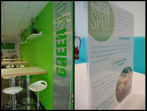 GreenSpot details & menu