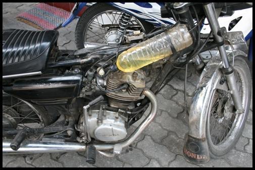 Indonesian motorbike
