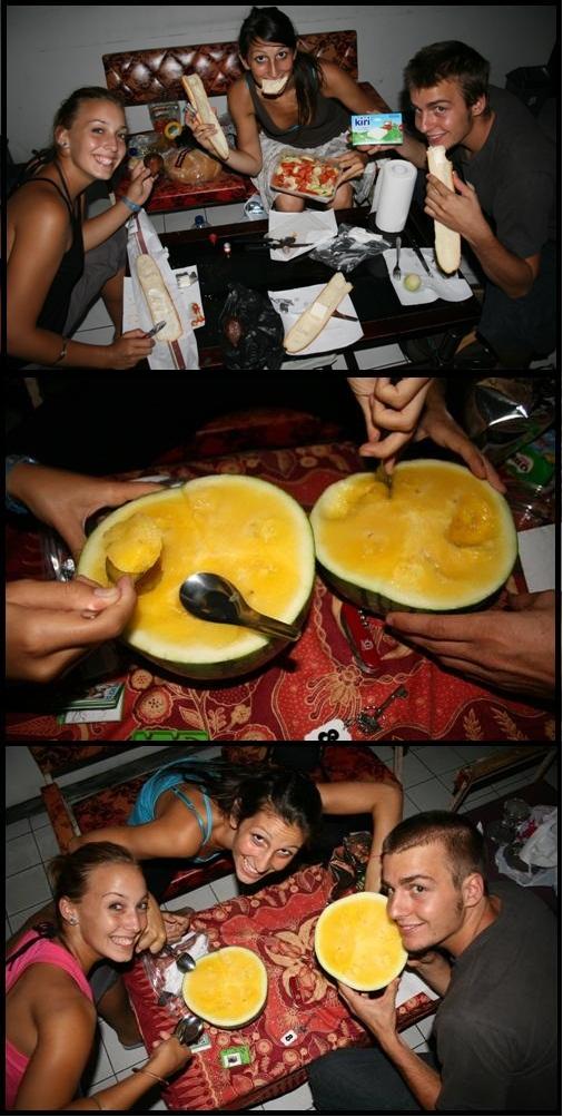 Yogyakarta meal Yellow Watermelon