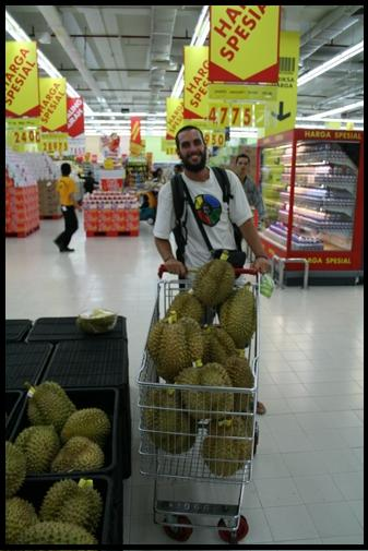 Durian @ Carrefour