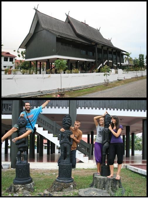Long House in Kalimantan