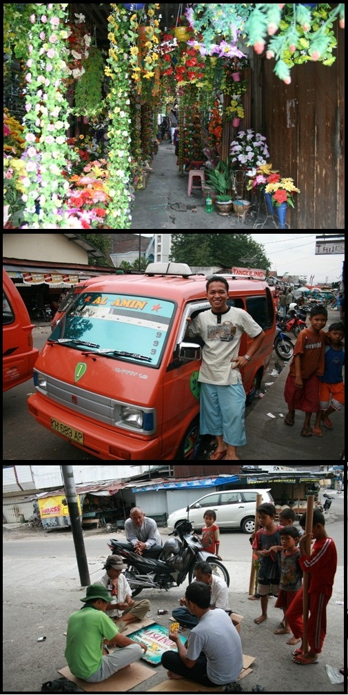 Palang Karaya street and people