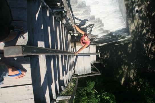 Climbing temple V