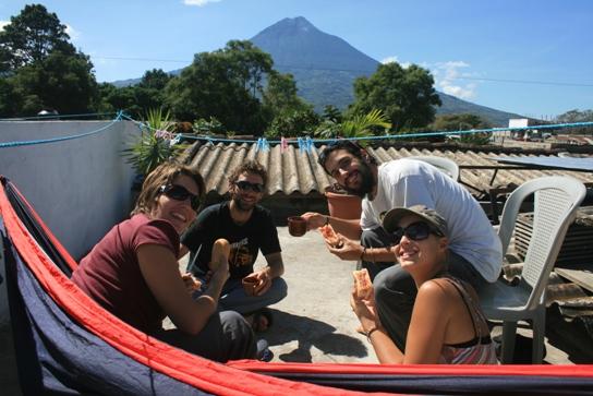 Breakfast with Volcano del Agua