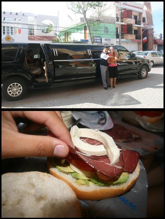 Limo & Sandwich