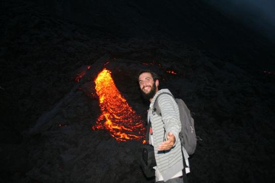 New eruption with Vins