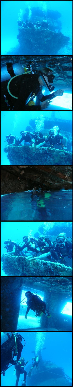 Diving wreck mama vina