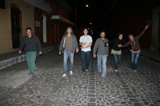 The Antigua crew