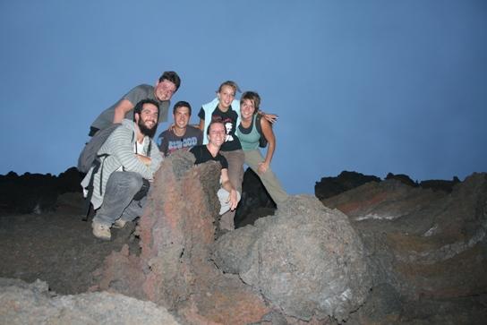 The volcano crew