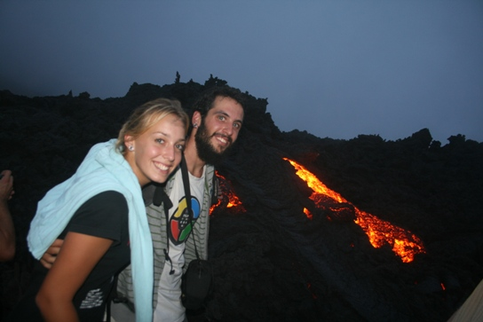 Us with the lava