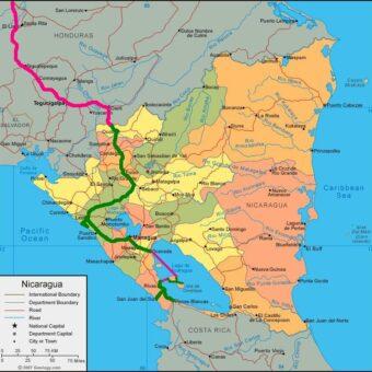 itinéraire Nicaragua