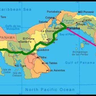 itinéraire Panama