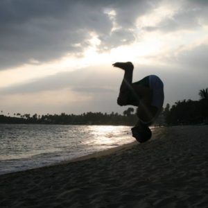 Sri Lankan Backflip