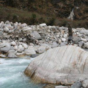 Handstand in Nepal