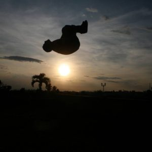 Backflip in Armenia Colombia