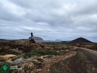 Desertical road