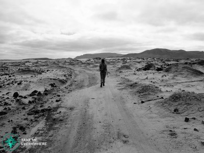 La Graciosa desert