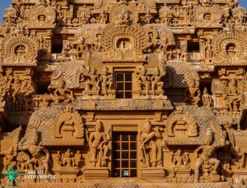 Detail of the entrance gate Brihadesvara
