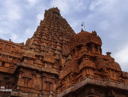 Brihadesvara temple is beautiful