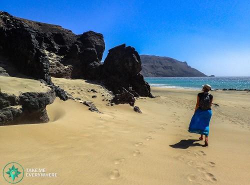 Desert beach Sao Vicente