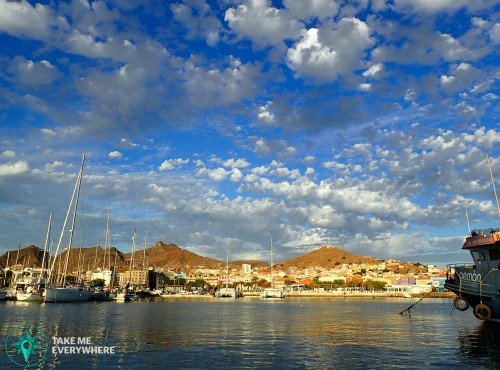 The marina of Mindelo