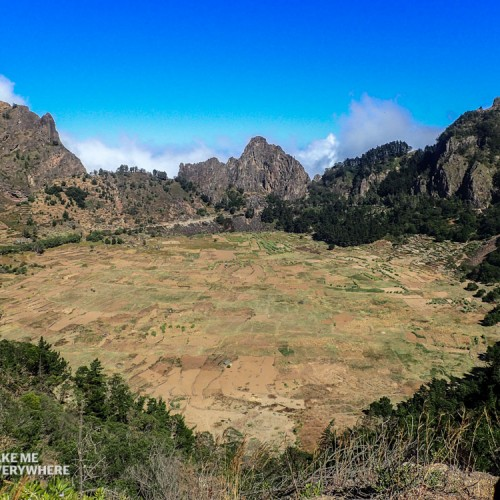 Crater in Santo Antao