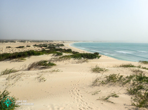The west coast of Boa Vista